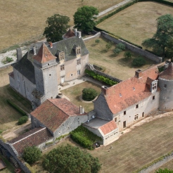 Air view of the Castle