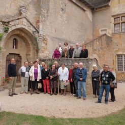 Group's visit of the village of Varaire